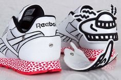 Keith Haring x Reeebok Classic Leather Lux