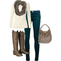 """Fall Weekend Outfit"" by forwarda on Polyvore"
