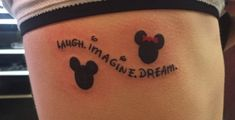 50 Eye-Catching Lion Tattoos That'll Make You Want To Get Inked - diy best tattoo ideas Cute Disney Tattoos, Disney Tattoos Quotes, Mickey Tattoo, Mickey Mouse Tattoos, Cute Disney Drawings, Bff Tattoos, Dope Tattoos, Best Friend Tattoos, Family Tattoos