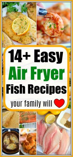 Tons of breaded air fryer fish recipes and more with no breading at all. Healthy and crispy dinner options your whole family will love night after night. Frozen Fish Recipes, Whole Fish Recipes, Recipes With Fish And Shrimp, Best Fish Recipes, Catfish Recipes, Grilled Fish Recipes, Trout Recipes, Salmon Recipes, Healthy Fish Recipes