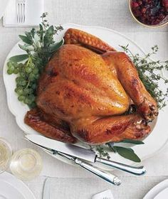 Cider-Glazed Turkey