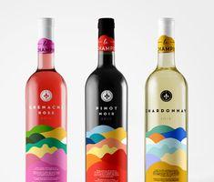 Limited Edition wine bottle labels.