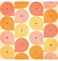 Seamless retro vintage background vector by tairen on VectorStock®