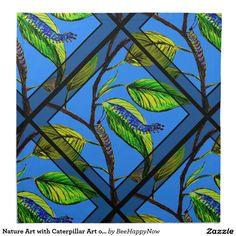 Nature Art with Caterpillar Art on Cloth Napkins Caterpillar Art, Dining Decor, Dinner Napkins, Cloth Napkins, Nature, Painting, Style, Swag, Naturaleza