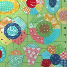 Sew Simple Shapes - Patchwork Flower Garden Tutorial!