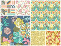 Hope Chest is a new fabric collection by Josephine Kimberling for Blend Fabrics