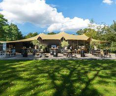 FlexZelt Firmenfeier - Sommerfeste - Gartenparty - Sommer - Zelt