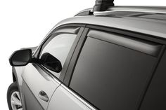 The 2018 Vw Atlas Rain Guards will let in fresh air while keeping out the rain!