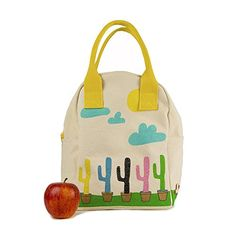 FLUF ZLUCAC01 Cactus Zipper Lunch Bag Regular Multicolor -- ON SALE Check it Out