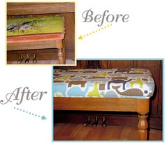 Two Plus Four - formerly KdBuggie Boutique: Tutorial: Piano Bench Slip Cover