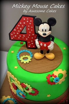 Mickey Mouse Clubhouse by Tasty Cakes by Jennifer via Flickr