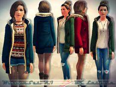 ~Lutetia~'s Winter Set No 1 - Coat - Teen