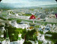 paris-expo-uni-1900-vue-aerienne-04 Tour Eiffel, Belle Epoch, Fair Games, Expositions, World's Fair, Versailles, Aerial View, Art Forms, Paris France