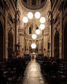 Light Installation Church - Robert Stadler