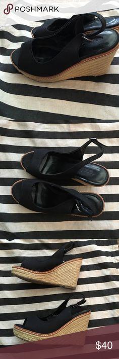American eagle black wedges American eagle black wedges never been worn American Eagle Outfitters Shoes Wedges