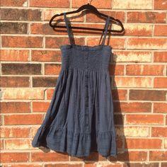 Flowy Summer Dress/ Swimsuit Cover Super cute, hardly worn dark blueish/greenish dress. Size M. Mossimo Supply Co Dresses