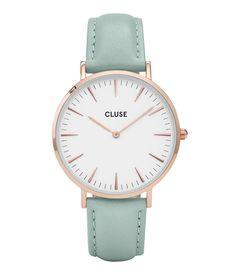 La Boheme Rose Gold White Horloges CLUSE