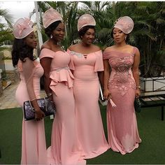BridalParty on point! Photo via @chioma_okpalugo #wdnbridesmaids #WeddingDigest #WeddingDigestNaija