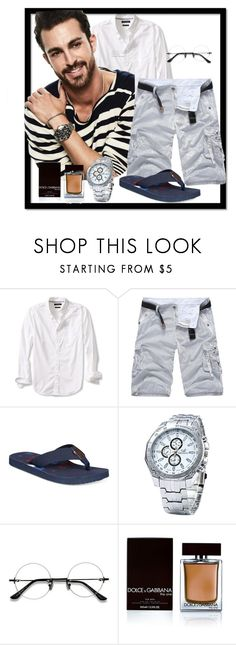 """""""Untitled #984"""" by fashionista4uandme ❤ liked on Polyvore featuring Banana Republic, Tommy Hilfiger, Dolce&Gabbana, men's fashion and menswear"""