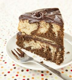**** Chocolate Swirl Cake - I made this and it was like my grandma's.  I cooked it for 25 min.
