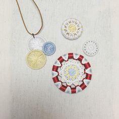 糸ボタン 糸巻きボタン ボタン ボタン作り ボタンメーキング ボタンメイキング Shirtlace buttonmaking button Shirtlacebutton