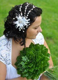 Hochzeit haarschmuck von wandadesign auf DaWanda.com