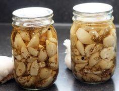 Coconut & Lime // recipes by Rachel Rappaport: Dill Pickled Garlic Coconut Lime Recipes, Garlic Recipes, Crudite, Antipasto, Chutney, Orange, Yellow Mustard Seeds, Pickled Garlic, Canning Recipes