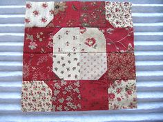 Sew Many Ways...: Block of the Month Club...Bow Tie Quilt Block