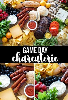Game Day Charcuterie