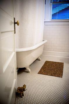 octagonal tile for main floor bath