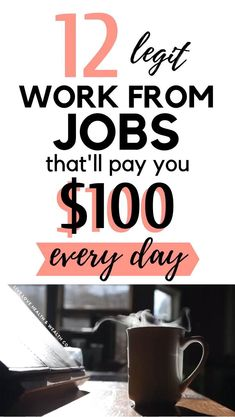 Looking for ways to make a full time income working from home? Here are 12 ways you can do exactly that! This list of work from home jobs are high paying and perfect for you if you're a stay at home mom looking to make extra cash. No Experience Necessary! Marketing Logo, Affiliate Marketing Jobs, Marketing Online, Marketing Digital, Media Marketing, Make Money Online Surveys, Ways To Earn Money, Earn Money From Home, Make Money Blogging