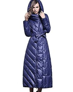 (TopFurMall)European Autumn Winter Women Parkas Down Coats With Hoody Lady  X-Long Slim Outwear Overcoat Plus Size    Click picture for details    a0ec80b045f3