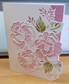 3d Cards, Handmade Cards, Card Ideas, Stamps, Card Making, Projects, Flowers, Craft Cards, Seals