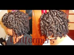 ▶ Natural Hair Tutorial | Curlformers on Natural Hair Tutorial - YouTube