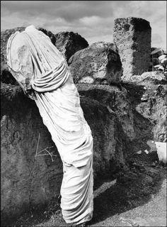 Herbert List,  Turned into stone, Ancient Corinth, Greece, 1937