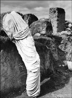 Turned into stone, Ancient Corinth, Greece, 1937 by Herbert List