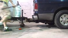 How to use a weight distribution hitch