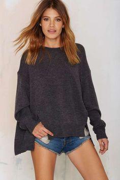 *SHEIN (SHEINSIDE) - NASTY GAL || 'Hard Day's Night' knit sweater | Jersey de punto 'Hard Day's Night'