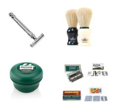 Everything you need to get started wet shaving! Shaving & Grooming, Wet Shaving, Safety Razor, Starter Kit, Products, Gadget