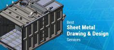 Best Sheet Metal Drawing & Design Services #Sheetmetaldesign #industrial #engineering #CAD