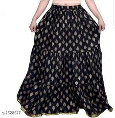 Ethnic Bottomwear - Skirts Elegant Comfy Cotton Skirt Fabric: Cotton  Size: Up To 26 in To 40 in (Free Size) Length: Up To 39 in Type: Stitched Description: It Has 1 Piece Of Women's Skirt Work: Printed Country of Origin: India Sizes Available: Free Size, 26, 28, 30, 32, 34, 36, 38, 40 *Proof of Safe Delivery! Click to know on Safety Standards of Delivery Partners- https://ltl.sh/y_nZrAV3  Catalog Rating: ★4.1 (1441)  Catalog Name: Myra Elegant Comfy Cotton Skirts CatalogID_198753 C74-SC1013 Code: 633-1528817-