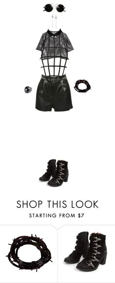 """""""Untitled #484"""" by biinarystar ❤ liked on Polyvore featuring La Perla, Barbed, Jeffrey Campbell, men's fashion and menswear"""