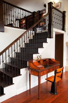 Traditional Home Indoor Railing Design, Pictures, Remodel, Decor and Ideas - page 13