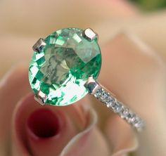 EXTREMELY RARE 3.16ct GIA Paraiba Tourmaline Diamond Ring