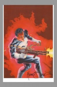 Mike Zeck Punisher Signed Art Print  now on www.vaultcollectibles.com. #mikezeck #thepunisher
