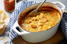Keep curry leaves handy for casual entertaining ideas, like this quick chicken curry.
