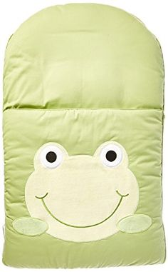 zCush Cotton Characters Nap Mat, Googly Green zCush