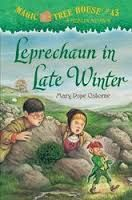 Book review by Claire C.  (2016-2017)  This is a book in the Magic Tree House series.  Jack and Annie are going to Ireland and trying to help a girl named Augusta make herself feel like she is not a miserable girl that always has to help the poor.  I want to recommend this book because...Children can learn about helping the poor.  And visualizing that fairies can actually be real if you really try to see them in your head.