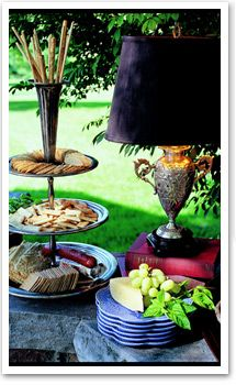 Outdoor entertaining - Nell Hill's - Mary Carol Garrity