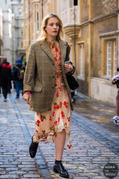 London SS 2018 Street Style: Before Simone Rocha